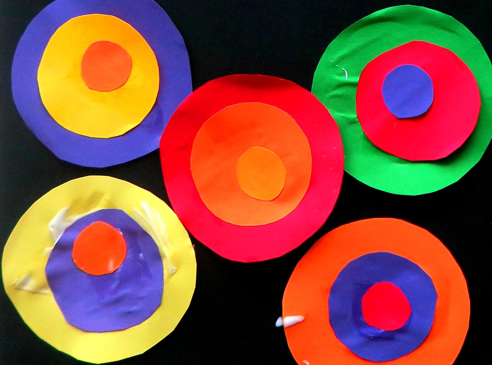 Cerchi_forme_colori_ per bambini