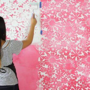 Stencil da parete e muro