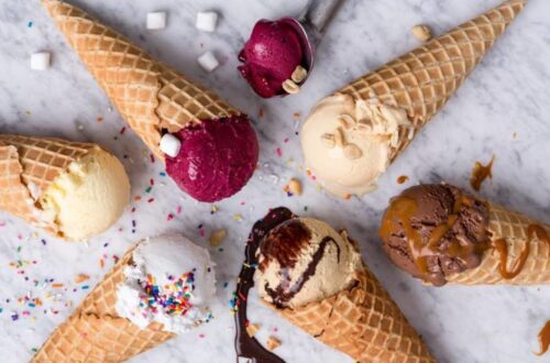 Ricettario gelato con gelatiera
