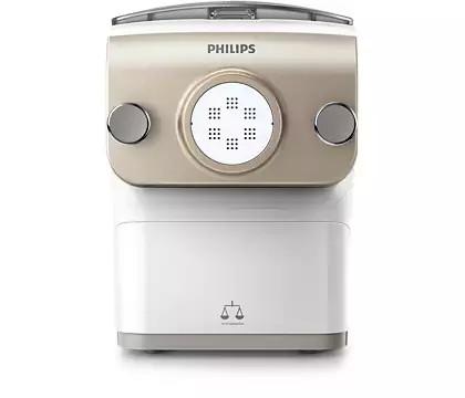 Pasta Maker Philips con bilancia con 4 trafile
