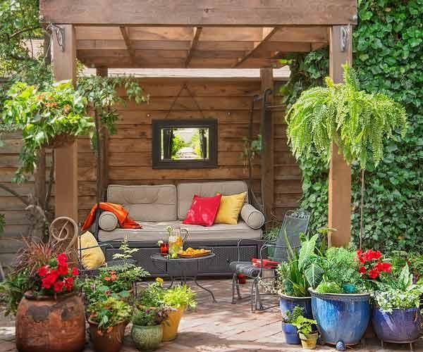 giardino salotto