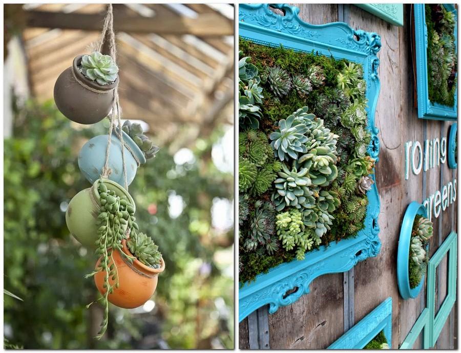 progettare piccolo giardino con colori